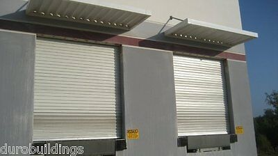 DuroSTEEL JANUS 16'W x 18'H Commercial 2500 Series Heavy Duty Rollup Door DiRECT