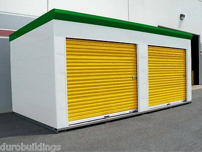 DuroSTEEL JANUS 8'W x 9'H Commercial 2500 Series Heavy Duty Roll-up Door DiRECT