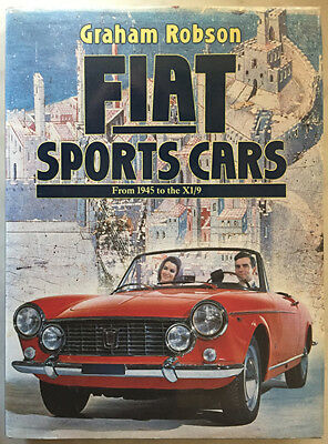 Fiat Sports Cars 1945-X1/9 Robson 124 128 Abarth Dino Ferrari Spider Stratos