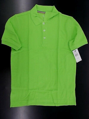 Boys French Toast $18 Uniform/Casual Lime Green Polo Shirt Size 16 - 20