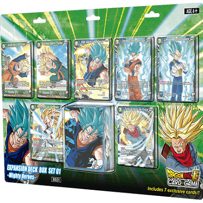 Dragon Ball Super Card Game - Might Heroes - Expansion Deck Set 01