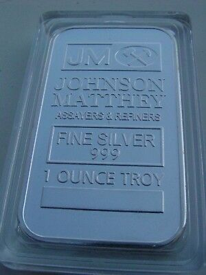 1 ounce troy Johnson Matthey