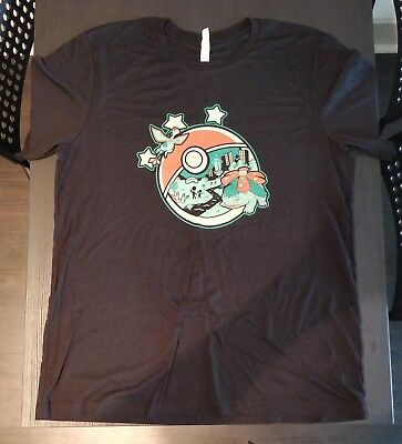 Pokemon Go Fest 2018 T-shirt Extra Large XL Lincoln Park Chicago Prize New