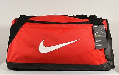Nike Brasilia Medium Training Duffel Bag University Red  Black (BA5334 657) f3696503be33c