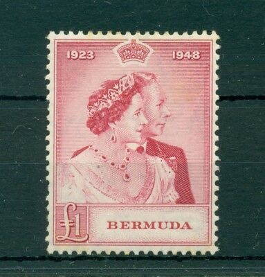 Lot 961 Bermuda Silver Wedding 1 Pound High Cat Mint Light Hinge Nice Gum