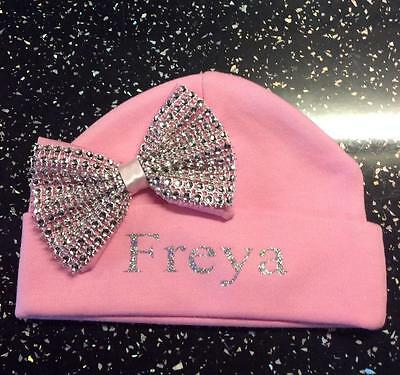 Romany Bling Baby Girls' Personalised Hat