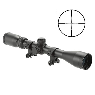 HD 4-12X40 Mil-dot Scope Optics Optical w/Aircraft-grade Aluminum Alloy Tube