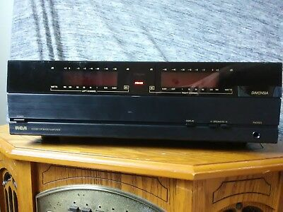 Vintage RCA Dimensia Stereo Power Amplifier Model MPA120 POWERS UP