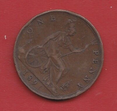 Great Britain 1 Penny 1891