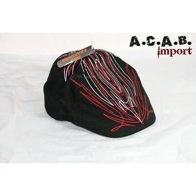 Casquette madison pinstriping old skool biker taille S à M