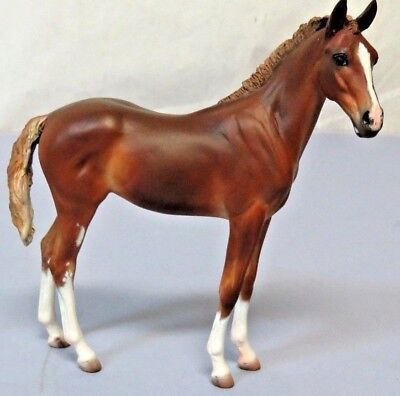 """Brigitte Eberl Resin """"Claire"""" Foal Traditional Size Morgan Kilbourn Limited Edit"""