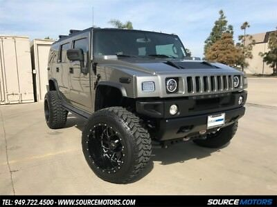 H2 Custom 2008 Hummer H2 Luxury SUV, Rancho Lift, RBP Wheels, Custom Interior, Navigation
