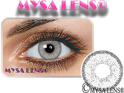 Natural Looking Contact Lenses Colored Nature Ice Gray 1 Year (Pair) MYSALENS