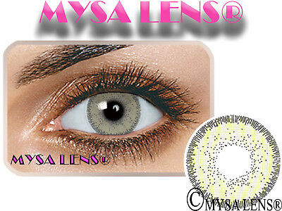 Natural Looking Contact Lenses Colored Nature Mel 1 Year (Pair) MYSALENS