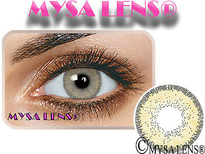 Natural Looking Contact Lenses Colored Nature Ochre 1 Year (Pair) MYSALENS