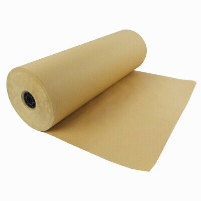 600mm x 210M Heavy Duty Imitation Kraft Brown Parcel Wrapping Paper Roll 90GSM