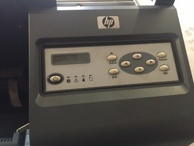 HP designjet 9000s Wide format printer. USED