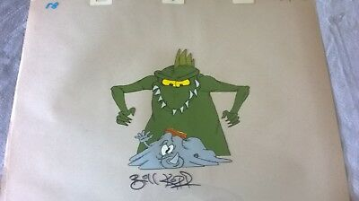 ONE CRAZY SUMMER ANIMATION - CRAZY REPTILE 1   - signed by BILL KOPP
