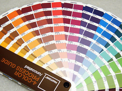 Pantone 4 Color Process Guide CMYK UNCOATED Large Edition cc