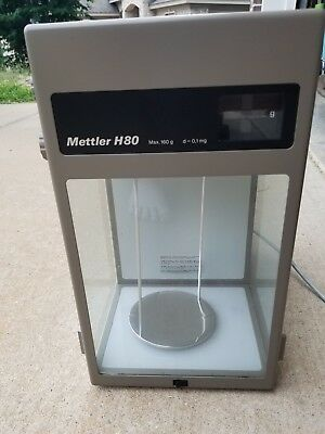 Mettler H80 Lab Scale Grams g Weight Scale Measure