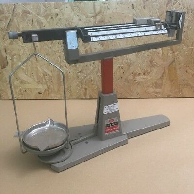 VINTAGE OHAUS CENT-O-GRAM BALANCE MODEL 311 Scales - PAN SUPPORT 5878 38 X 29CM