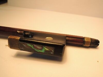Old violin bow, interesting bow