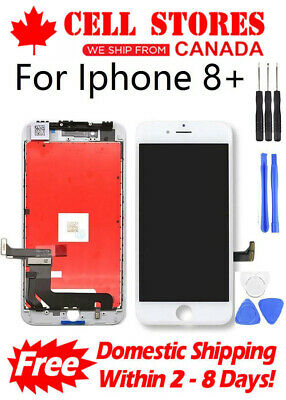 LCD Touch Screen Digitizer Display Assembly Replacement for iPhone 8 Plus + Tool