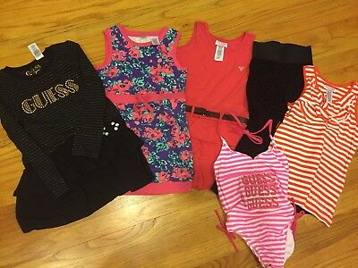 NWOt Lot Of 6 PC Guess Girls Top / Bottoms Size: 6X (L)