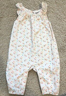 EUC! Girls Baby GAP Romper Jumpsuit Outfit 3-6 Mo