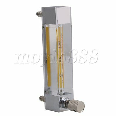 LZB-3 6-60ml/min 5.4in Height Plastic Liquid Flowmeter with Control Valv
