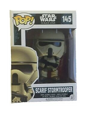 FUNKO POP 145  Star Wars Rogue One Scarif Stormtrooper