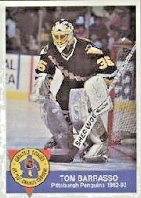 1993-94 High Liner Greatest Goalies #6 Tom Barrasso Pittsburgh Penguins