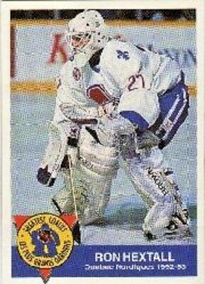 1993-94 High Liner Greatest Goalies #4 Ron Hextall Quebec Nordiques