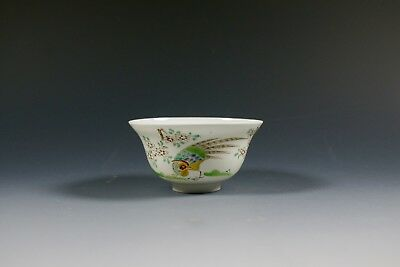 Japanese Antique Porcelain Fine Eggshell Tea Bowl Wine Cup Six Character marks