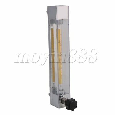 9.4in Height Flowmeter for Water Liquid Flow Rate LZB-4 1.6-16L/h