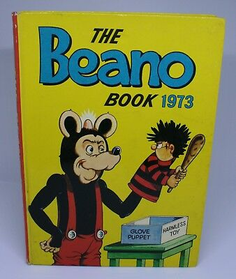 The Beano Annual / Book 1973 - Good Condition