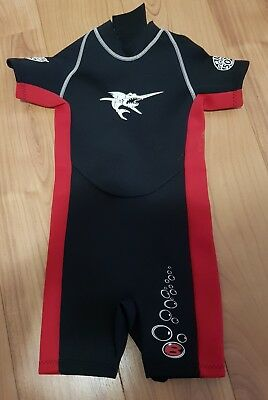 Kids Wetsuit Sz 1 Fits 3-4 Years Old Bargain