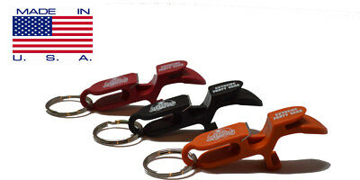SHOTGUN KEY CHAIN  | Beer Bong for Cans |  3-PACK | 3 Color | MADE IN USA