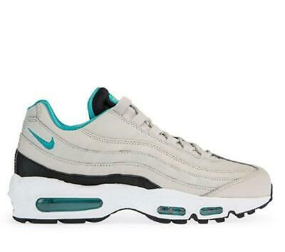 hot sale online 12dc6 8cf22 Mens Nike Air Max 95 Essential Light Bone Running Trainers 749766 027