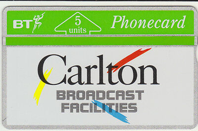 BT Private 68, Carlton Television Broadcasting, mint phonecard