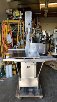 Butcher Boy B16-F Commercial Meat Born Band Saw 230V 3 ph 2 hp with New Blades
