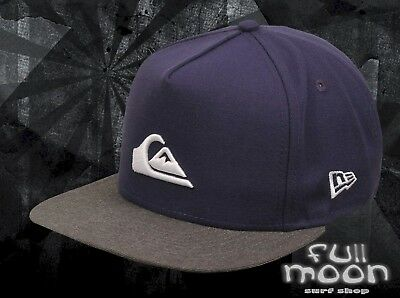 New Quiksilver Stuckles Mens Snapback Navy Cap Hat daa879f479a7