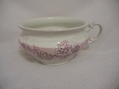 W H Grindley English Under The Bed Chamber Pot Atlas Staffordshire Antique 1920
