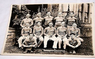 Vintage Syracuse NY Greenways Brewery baseball team photo