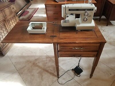 Vintage Sears Kenmore 158 Heavy Duty Metal Sewing Machine Only