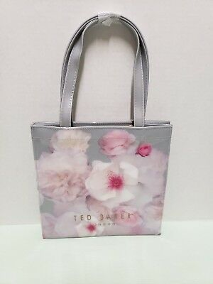 6707645df1 NWT - Ted Baker London - CERYCON - Chelsea Small Icon Tote Bag - Light Gray