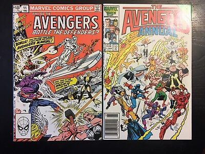avengers annuals #11,15
