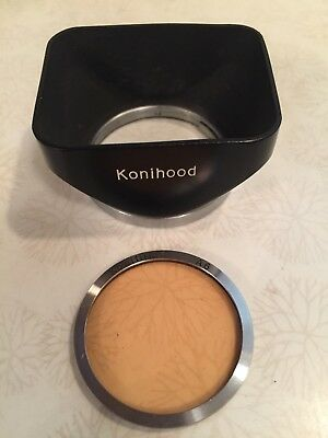 Vintage KONICA Konihood Lens Shade With Leather Case  & Konifilter A6