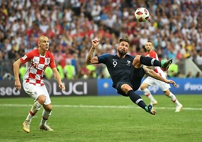 Olivier Giroud - France -  World Cup 2018 - A1/A2/A3/A4 Poster / Photo Print