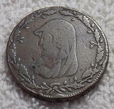 1788 Great Britain Druid Conder Anglesey Mines Half Penny Token PMC